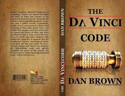 """Kết quả hình ảnh cho """"Mật Mã Da Vinci"""" – Dan Brown"""